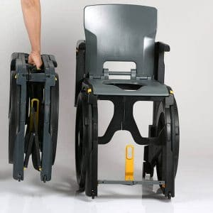 folding travel shower chair